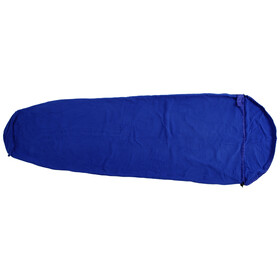Basic Nature Fleece Schlafsack royal blue